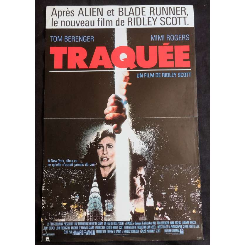 SOMEONE TO WATCH OVER ME French Movie Poster 15x21 - 1987 - Ridley Scott, Tom Berenger