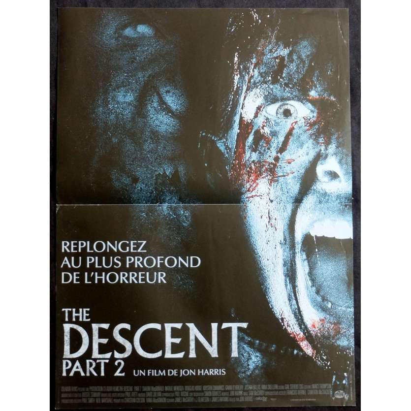 THE DESCENT II French Movie Poster 15x21 - 2009 - Jon Harris,