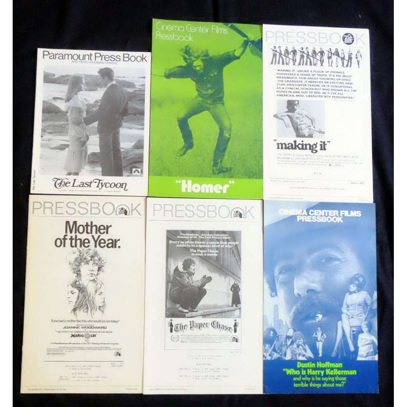LOT 3 US Pressbook lot 11x15 - 1970's - Joanne Woodward, Hoofman, Tuesday Weld