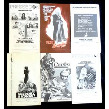 LOT 7 US Pressbook lot 11x15 - 1970's - Woody Allen, Russ Meyer, Jeff Bridges, Connie Stevens