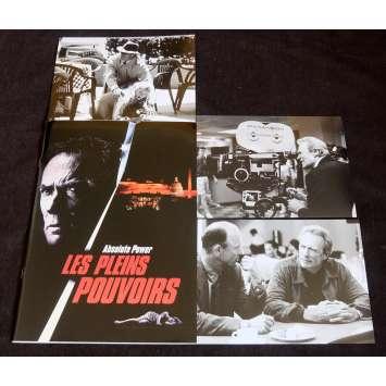 LES PLEINS POUVOIRS Dossier de presse 20p, 3 Stills 18x25 - 1997 - Gene Hackman, Clint Eastwood