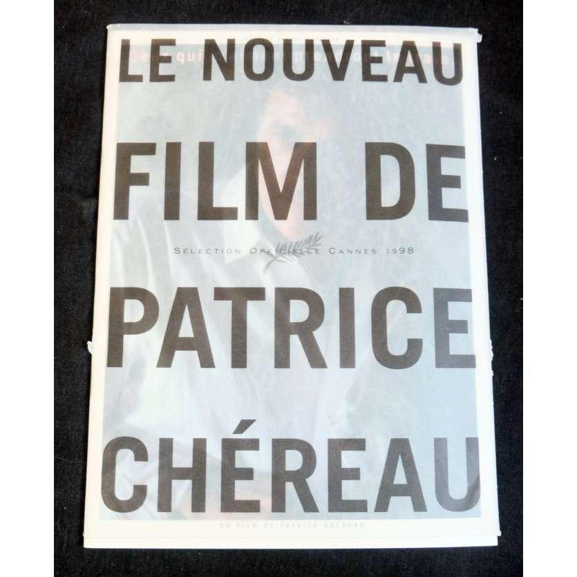 CEUX QUI M'AIMENT PRENDRONT LE TRAIN Dossier de presse 30p 25x30 - 1998 - Pascal Greggory, Patrice Chéreau