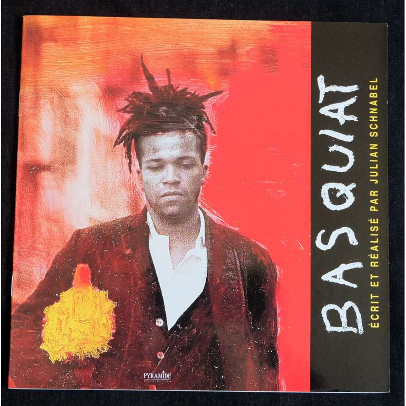 BASQUIAT Dossier de presse 16p 20x20 - 1996 - David Bowie, Julian Schnabel