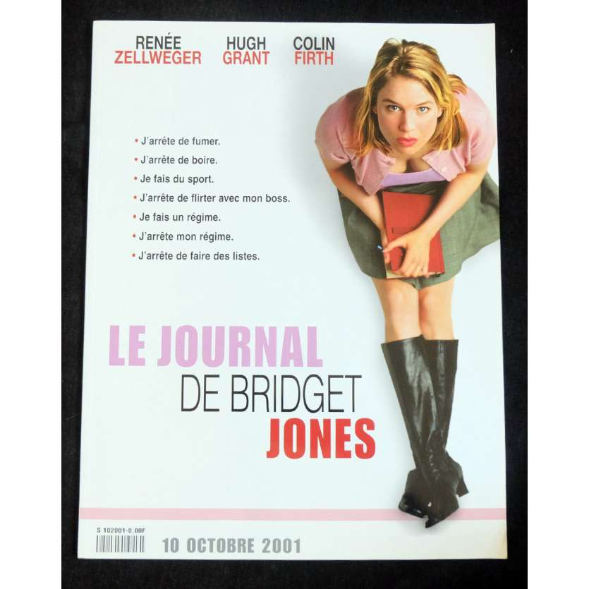 BRIDGET JONES French Pressbook 40p 8x11 - 2001 - Sharon McGuire, Renee Zellweger