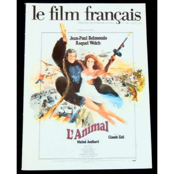 LE FILM FRANÇAIS N1689 French Magazine 40p 8x11 - 1977 - Belmondo, De Funes, Montand