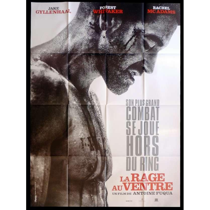 LA RAGE AU VENTRE Affiche de film 120x160 - 2015 - Jake Gyllenhaal, Antoine Fuqua