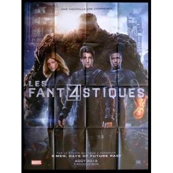 FANTASTIC FOUR French Movie Poster 47x63 - 2015 - Josh Trank, Kate Mara
