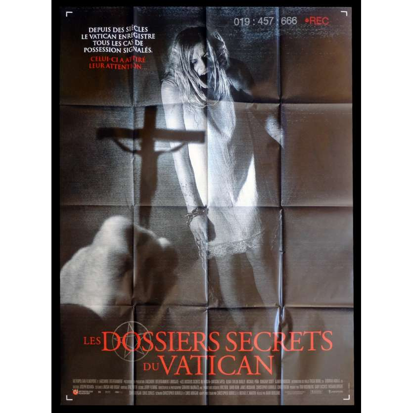 LES DOSSIERS SECRETS DU VATICAN French Movie Poster 47x63 - 2015 - Marc Neveldine, Djimoun Hounsou