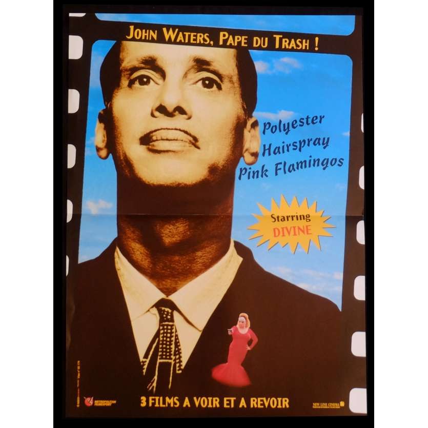 JOHN WATERS Affiche de film 40x60 - 2013 - Divine, John Waters
