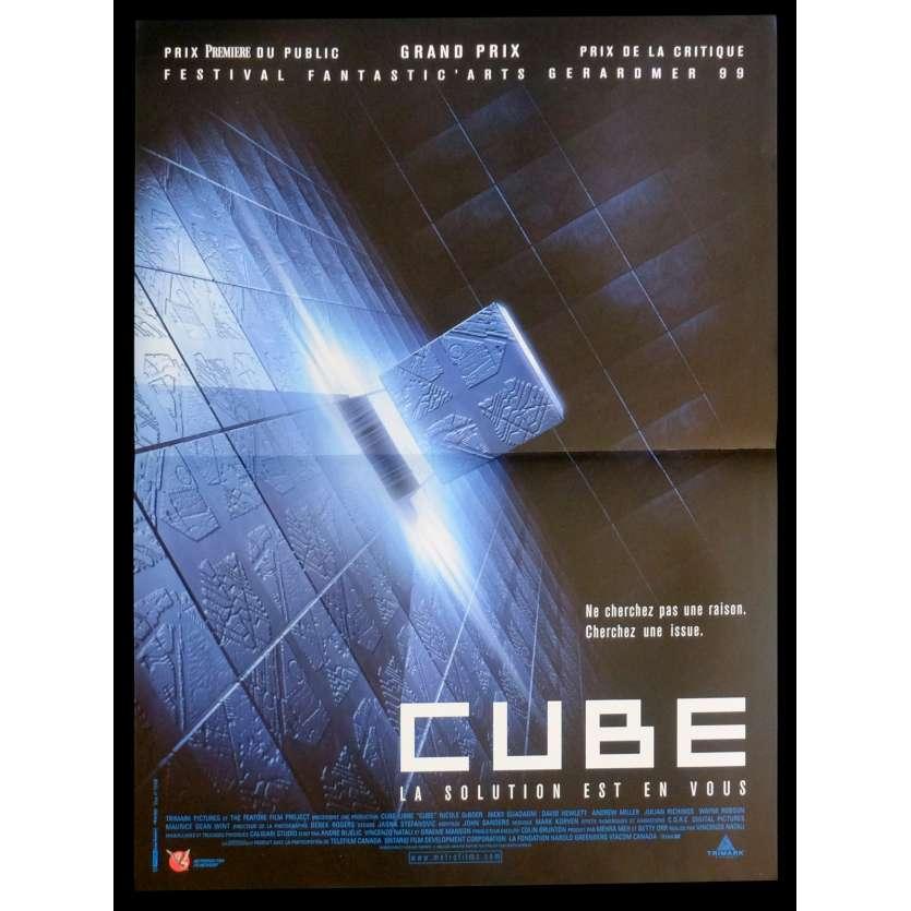 CUBE Affiche de film 40x60 - 1997 - Nicole de Boer, Vincenzo Natali