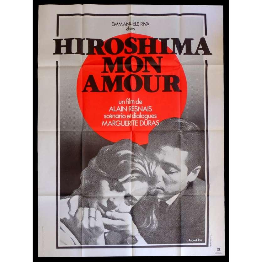 HIROSHIMA MON AMOUR Affiche de film 120x160 - R2015 - Emmanuelle Riva, Alain Resnais