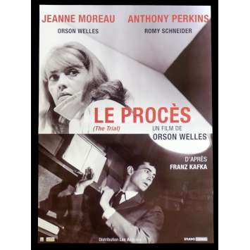 LE PROCES French Movie Poster 15x21 - R2015 - Orson Welles, Jeanne Moreau