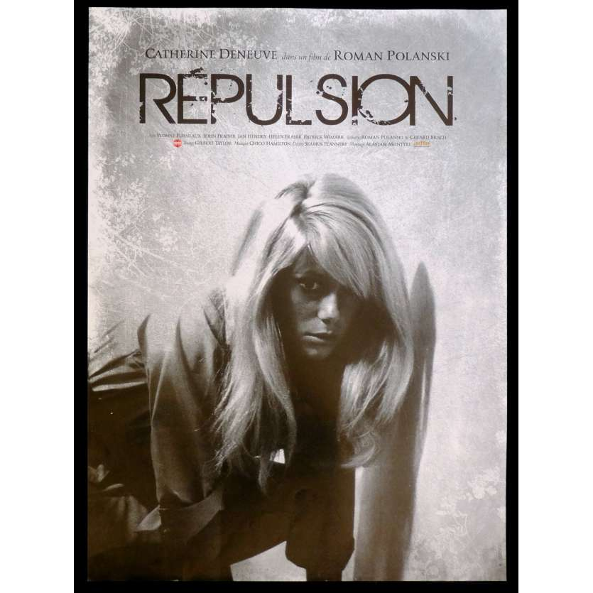 REPUSION French Movie Poster 15x21 - R2015 - Roman Polanski, Catherine Deneuve