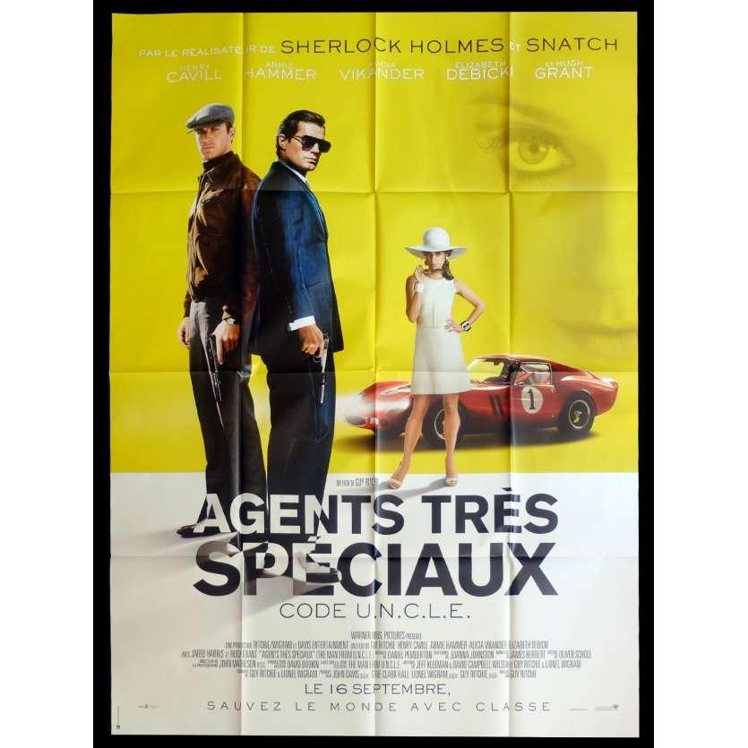 DES AGENTS TRES SPECIAUX Affiche de film 120x160 - 2015 - Henry Cavill, Guy Ritchie