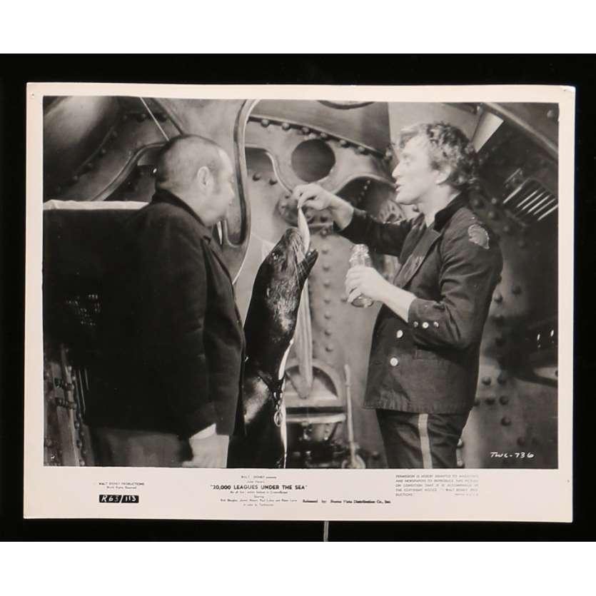20000 LIEUES SOUS LES MERS Photo de presse N2 20x25 - 1963 - Kirk Douglas, Richard Fleisher