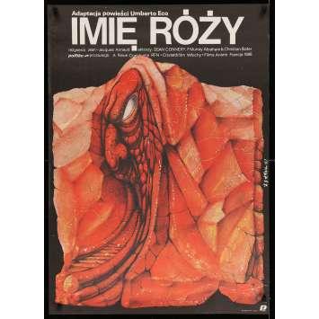 LE NOM DE LA ROSE Affiche de film 67x94 - 1987 - Sean Connery, Jean-Jacques Annaud