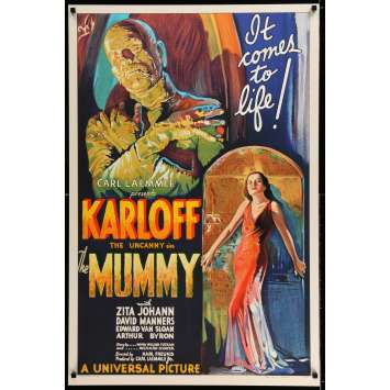 LA MOMIE S2 Recreation Affiche de film 69x105 - 1999 - Boris Karloff, Karl Freund
