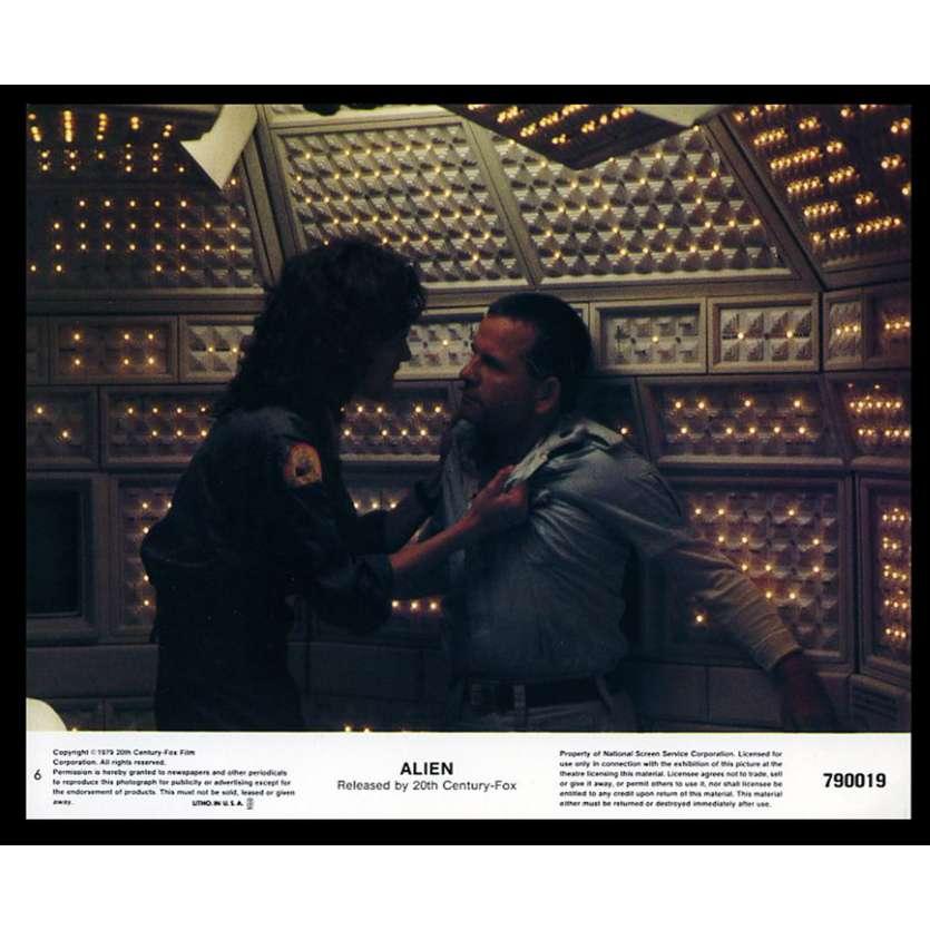 ALIEN 8x10 Lobby Card '79 Ridley Scott LC N6