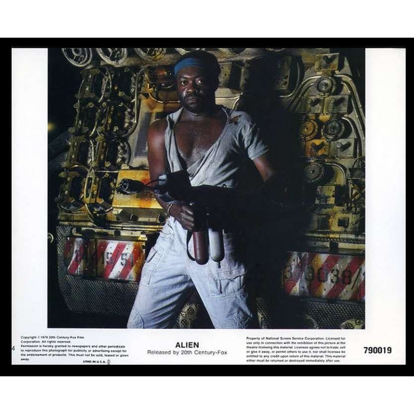 ALIEN 8x10 Lobby Card '79 Ridley Scott LC N4