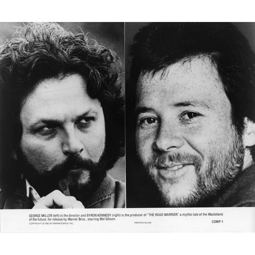 MAD MAX 2 Photo de presse N10 20x25 - 1982 - Mel Gibson, George Miller