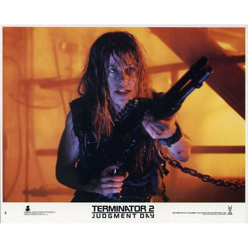 TERMINATOR 2 Photo du film N10 20x25 - 1991 - Arnold Schwarzenegger, James Cameron