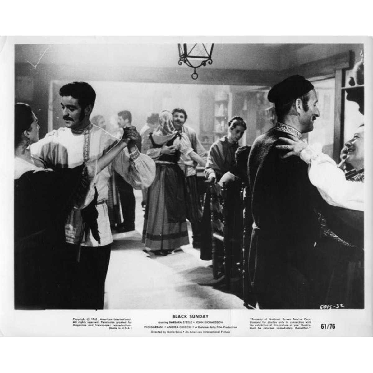 Black Sunday Movie Poster Lobby Card Barbara Steele