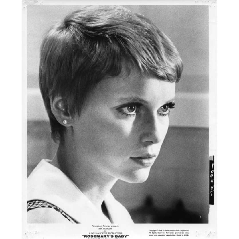 ROSEMARY'S BABY Photo de presse N3 20x25 - 1968 - Mia Farrow, Roman Polanski