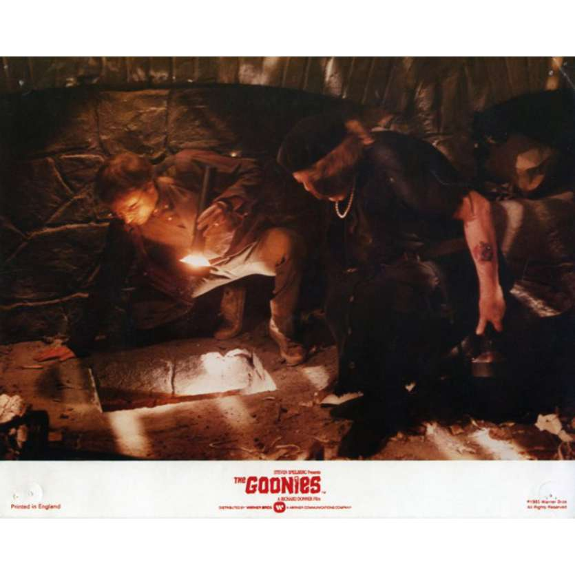 THE GOONIES US Lobby Card 8x10 - 1985 - Richard Donner, Sean Astin