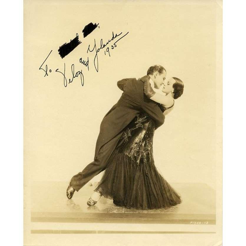 YELOZ ET YOLLANDA Photo signée 20x25 - 1930'S - ,