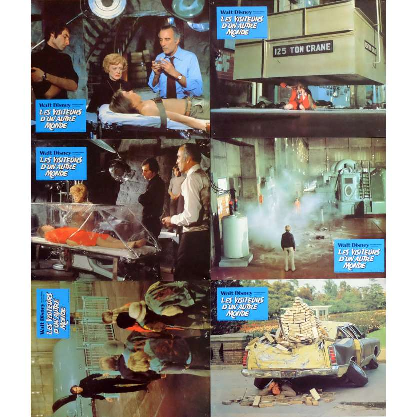LES VISITEURS D'UN AUTRE MONDE Photos du film x15 21x30 - 1978 - Christopher Lee, John Hough