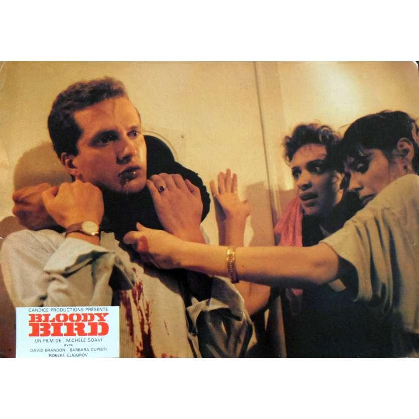 STAGEFRIGHT French Lobby Card 9x12 - 1987 - Michele Soavi, David Brandon