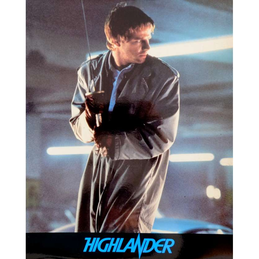 HIGHLANDER French Deluxe Lobby Card N2 10x12 - 1985 - Russel Mulcahy, Christophe Lambert