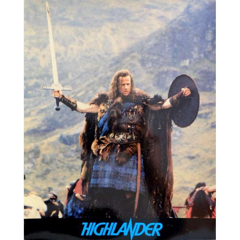 HIGHLANDER Photo prestige N1 24x30 - 1985 - Christophe Lambert, Russel Mulcahy