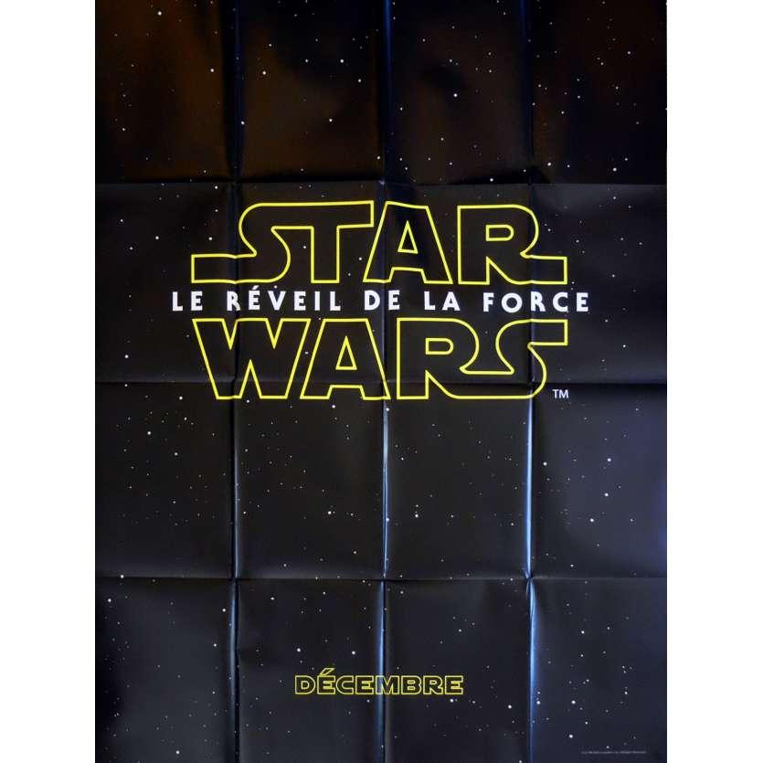 STAR WARS VII - LE REVEIL DE LA FORCE Affiche de film prev. 120x160 - 2015 - Harrison Ford, J. J. Abrams