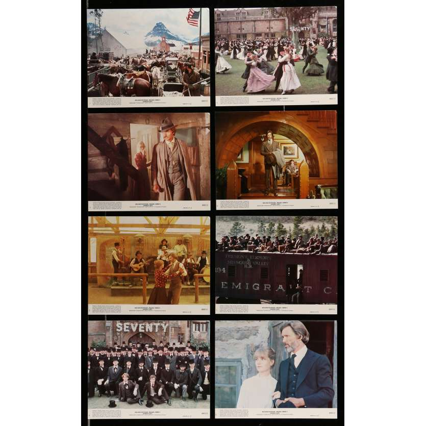 HEAVEN'S GATE Lobby Cards 8x10 in. USA - 1981 - Michael Cimino, Isabelle Huppert