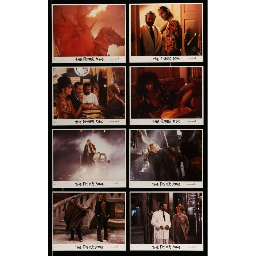 FISHER KING Photos de film 20x25 cm - 1991 - Jeff Bridges, Terry Gilliam