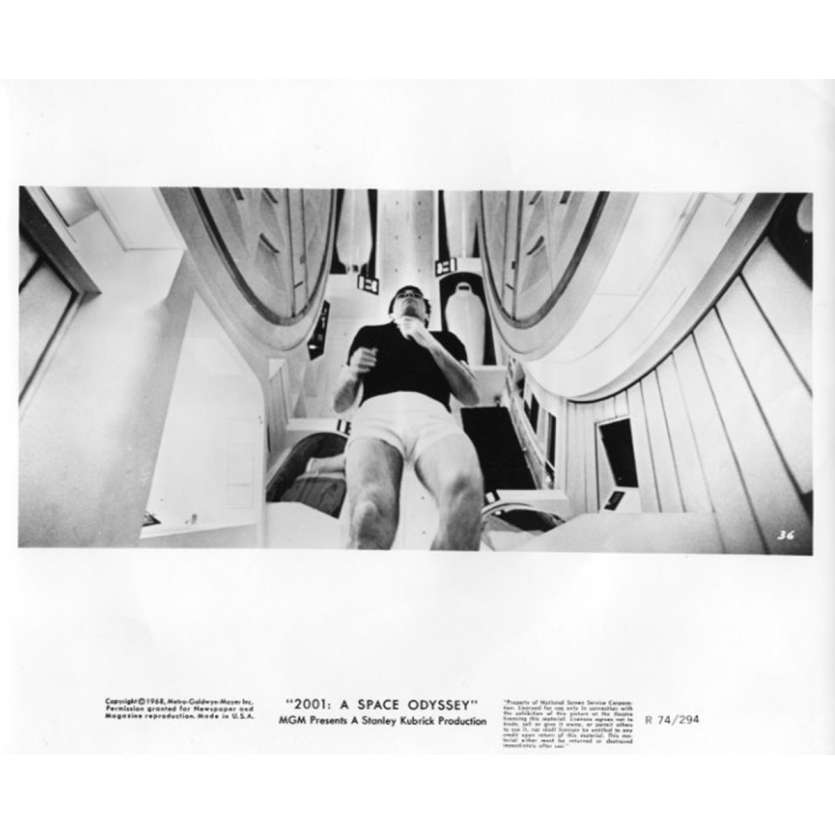 2001 A SPACE ODYSSEY Movie Still N14 8x10 in. USA - R1974 - Stanley Kubrick, Keir Dullea