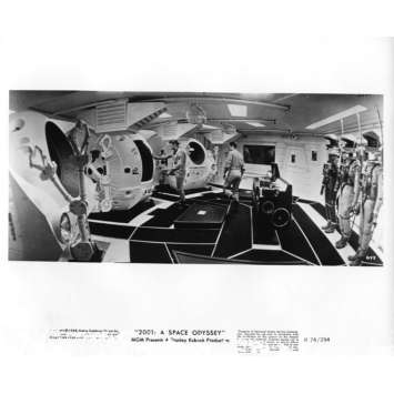 2001 L'ODYSSEE DE L'ESPACE Photo de presse N11 20x25 cm - R1974 - Keir Dullea, Stanley Kubrick