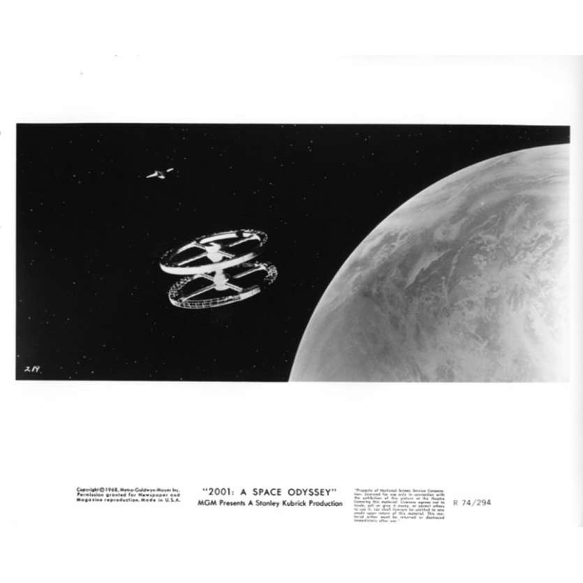 2001 A SPACE ODYSSEY Movie Still N6 8x10 in. USA - R1974 - Stanley Kubrick, Keir Dullea