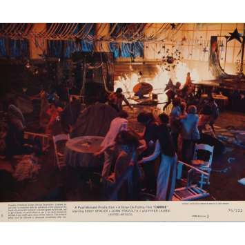CARRIE Lobby Card N7 8x10 in. USA - 1976 - Brian de Palma, Sissy Spacek