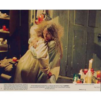 CARRIE Photo de film N5 20x25 cm - 1976 - Sissy Spacek, Brian de Palma