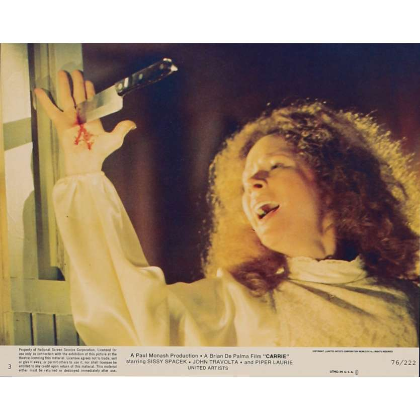 CARRIE Photo de film N4 20x25 cm - 1976 - Sissy Spacek, Brian de Palma