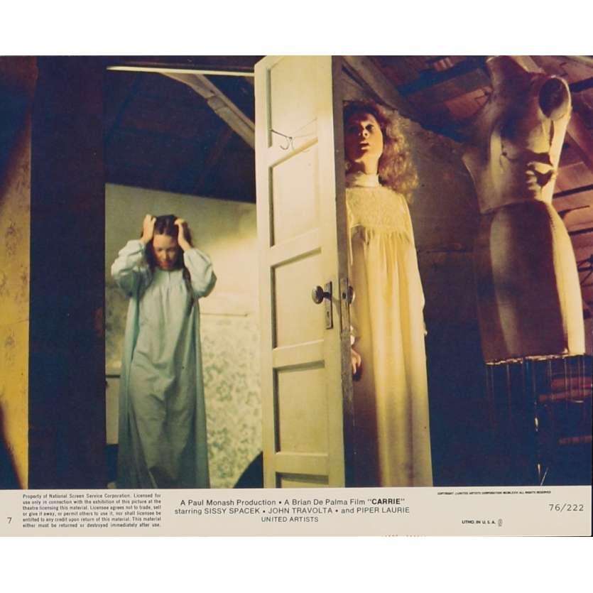 CARRIE Lobby Card N2 8x10 in. USA - 1976 - Brian de Palma, Sissy Spacek