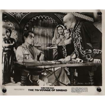 7th VOYAGE OF SINBAD Movie Still N6 8x10 in. USA - R1975 - Ray Harryhausen, Kervin Mathews