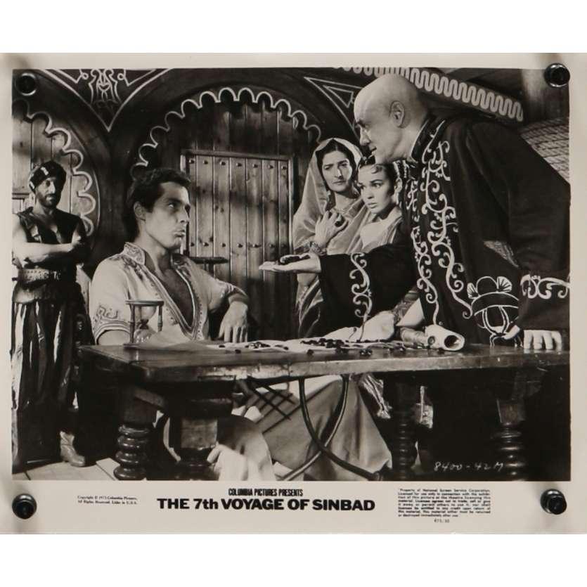 7th VOYAGE OF SINBAD Movie Still N6 8x10 in. USA - R1975 - Ray Harryhausen, Kervin Mathews