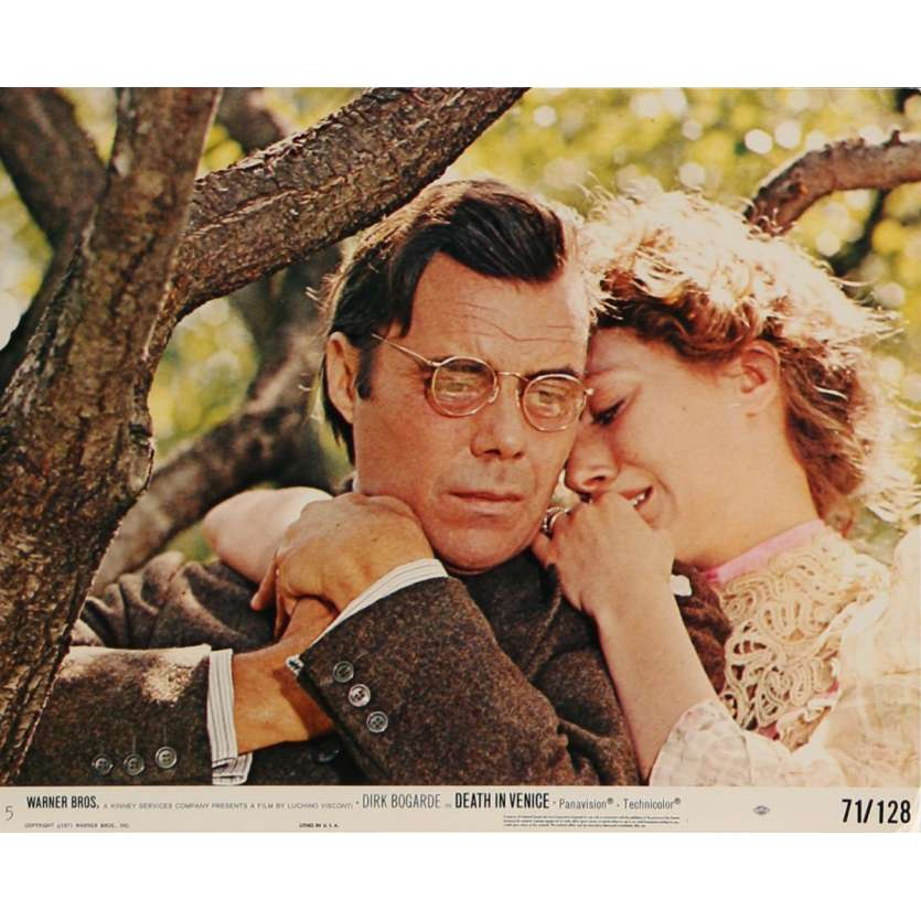 MORT A VENISE Photo de film N5 20x25 cm - 1971 - Dirk Bogarde, Luchino Visconti
