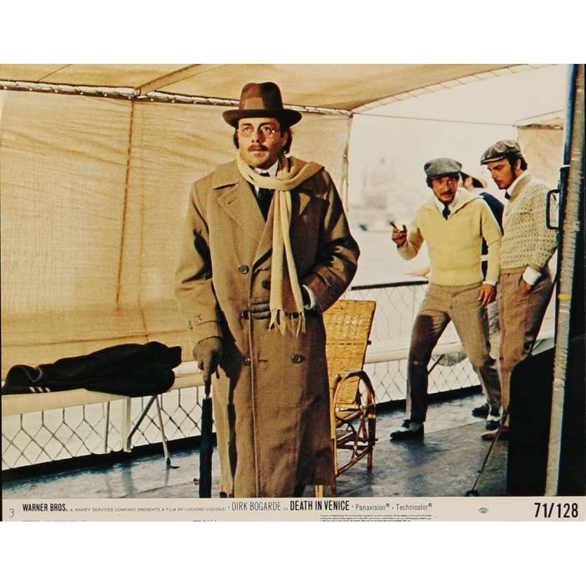 DEATH IN VENICE Lobby Card N4 8x10 in. USA - 1971 - Luchino Visconti, Dirk Bogarde