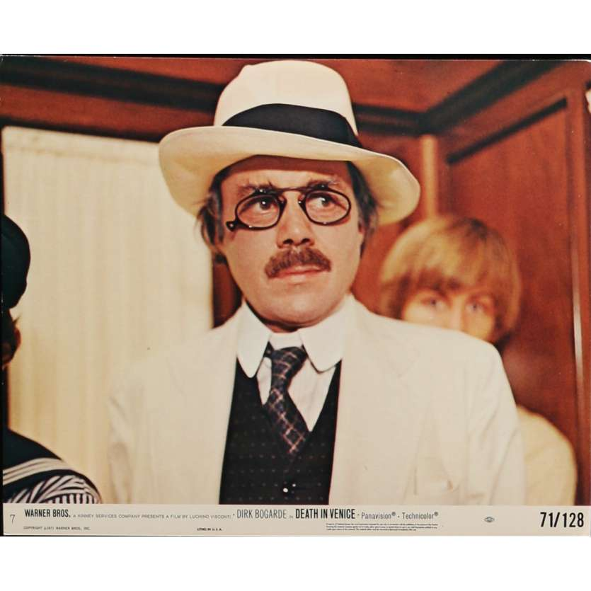 DEATH IN VENICE Lobby Card N1 8x10 in. USA - 1971 - Luchino Visconti, Dirk Bogarde
