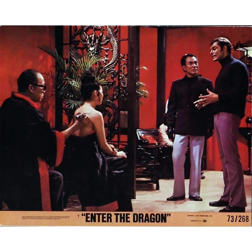 OPERATION DRAGON Photos de film N4 20x25 cm - 1973 - Bruce Lee, Robert Clouse