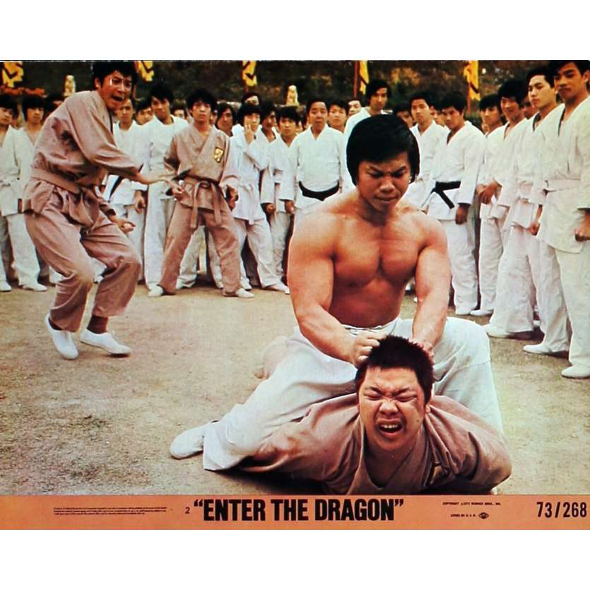 ENTER THE DRAGON Lobby Cards N3 8x10 in. USA - 1973 - Robert Clouse, Bruce Lee